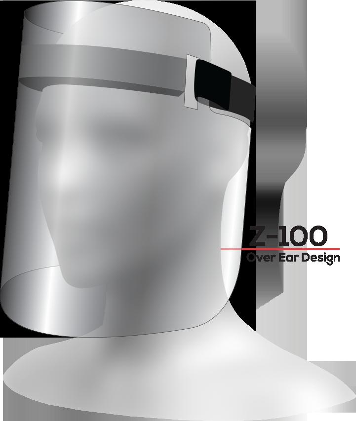 ZONE Z-100 Face Shield