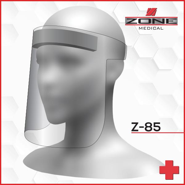 Z-85 Wrap Around Face Shield
