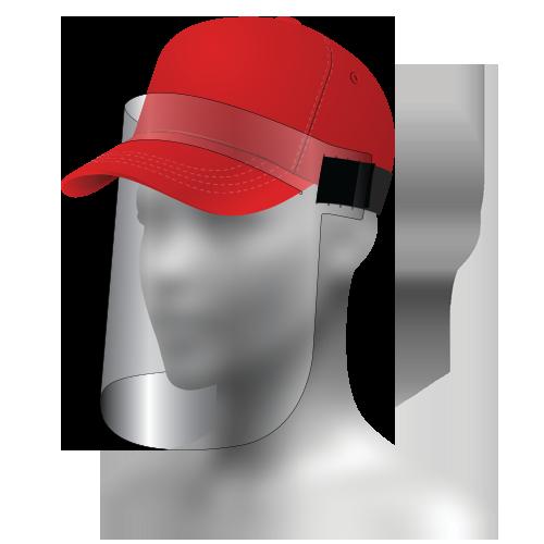 Z-50 Ball Cap Face Shield