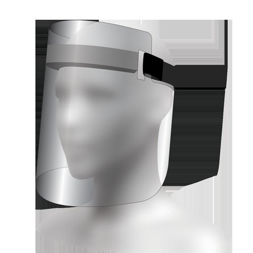 Z-100 Over Ear Face Shield